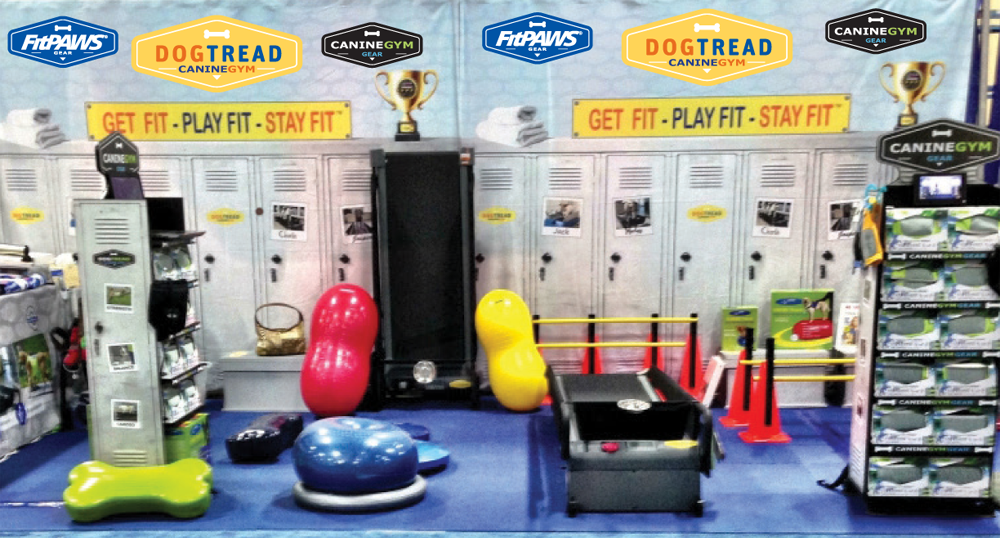 Westminster Dog Show with FitPAWS and DogTread Canine Gym