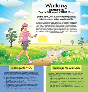 Waling Benefits for you and Your Dog